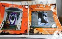 Halloween Monster Door Cover and Creepy Window Cover ...