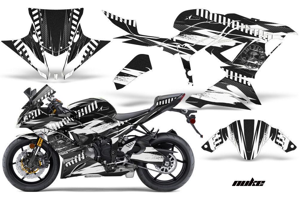 Street Bike Graphics Kit Decal Wrap For Kawasaki Ninja