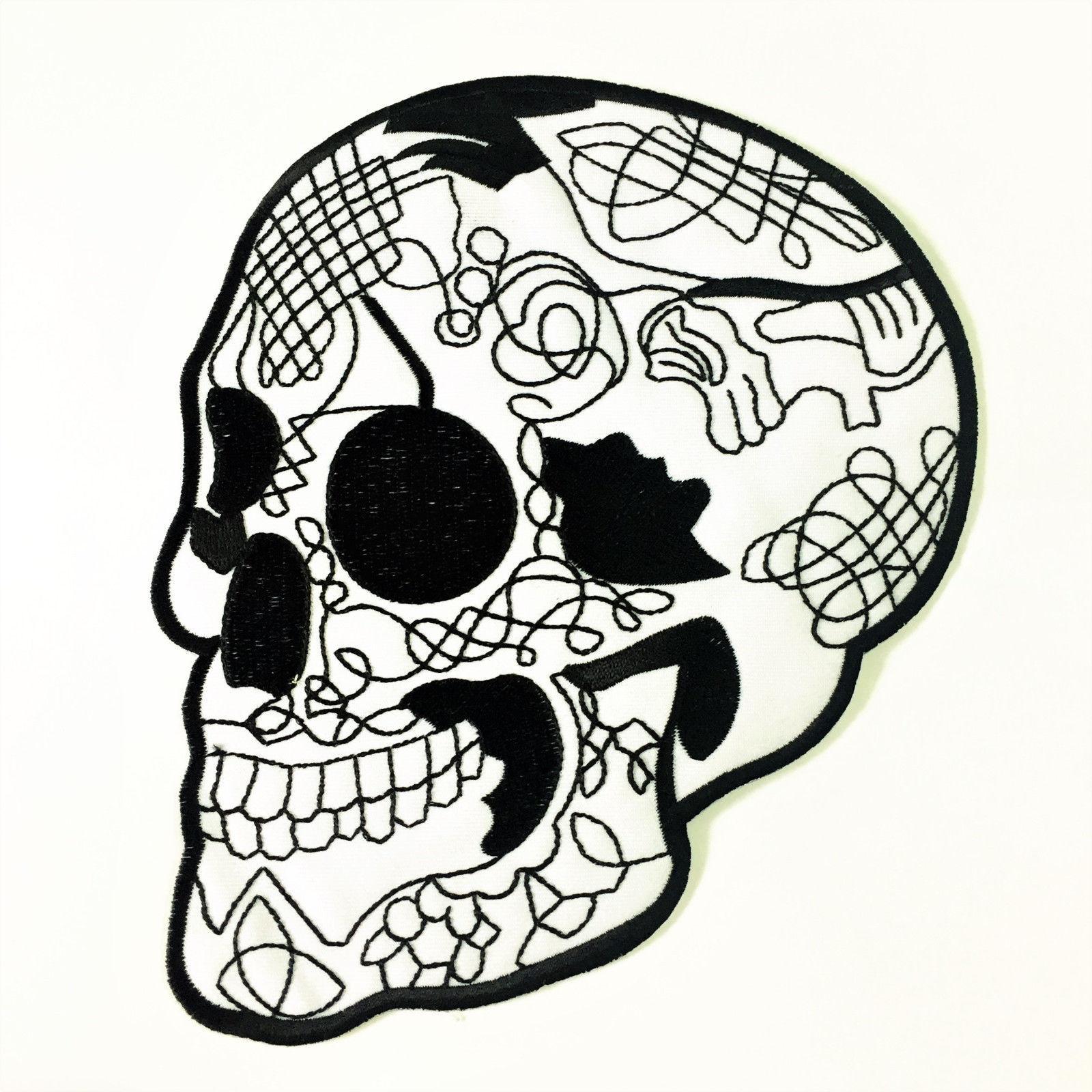 Biker Skull Tattoo Designs