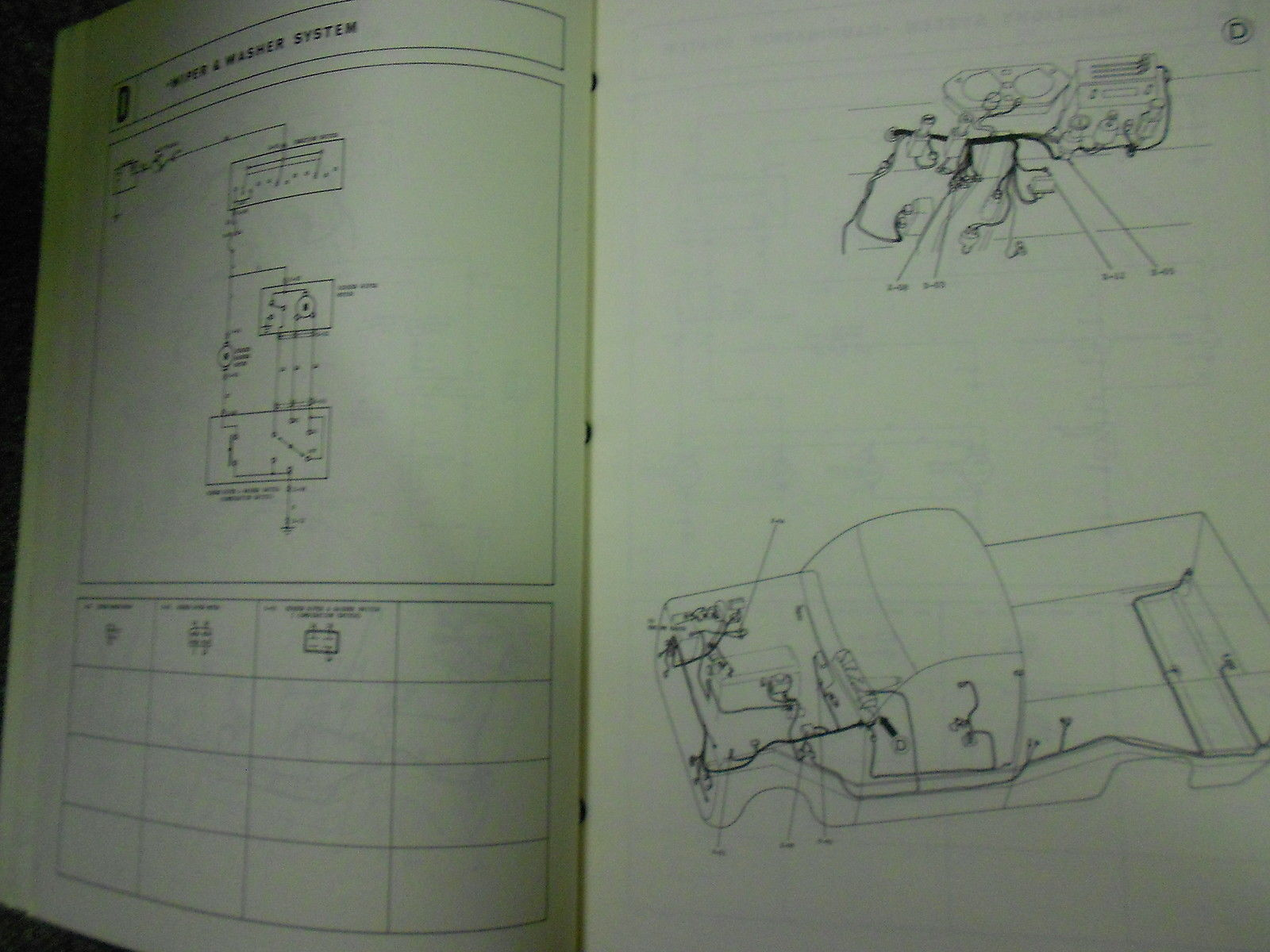 hight resolution of 1977 mazda b 1800 truck electrical wiring diagram service repair shop manual 77