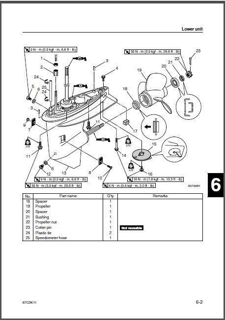 Yamaha F30 / F40 ( F30A F40B ) 4-Stroke Outboards Service
