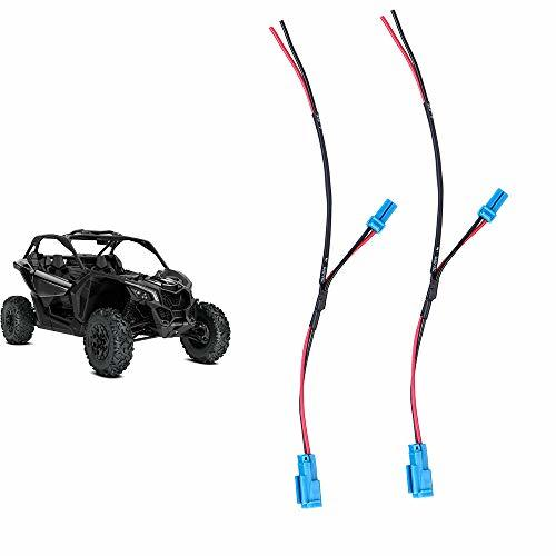 2 pcs Maverick X3 Accessory Wiring Pigtail for Can Am
