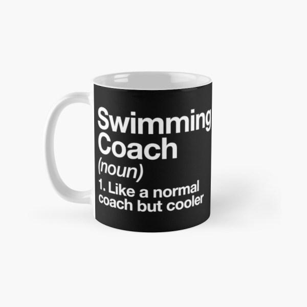 Swim Coach Funny Definition Trainer Design Classic