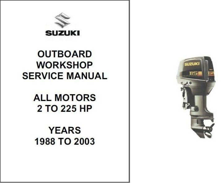 Suzuki Outboard Motor Repair Manual | siteandsites co