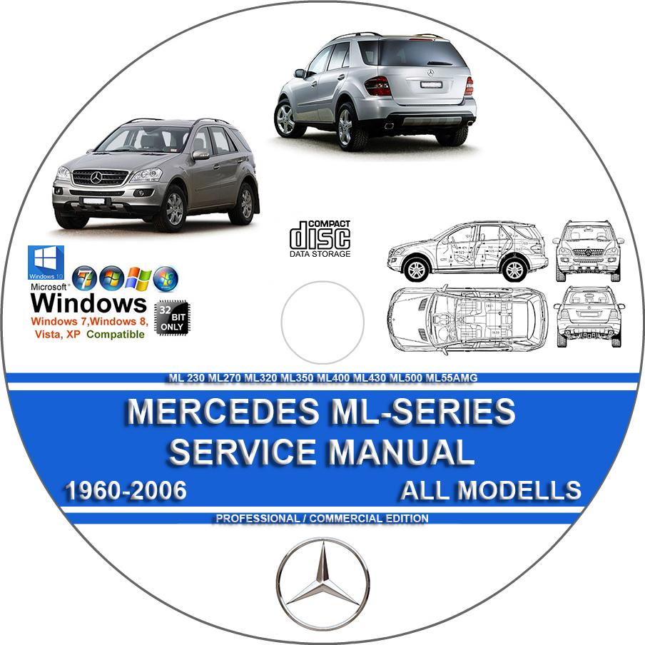 hight resolution of maintenance repair manual for mercedes benz ml320