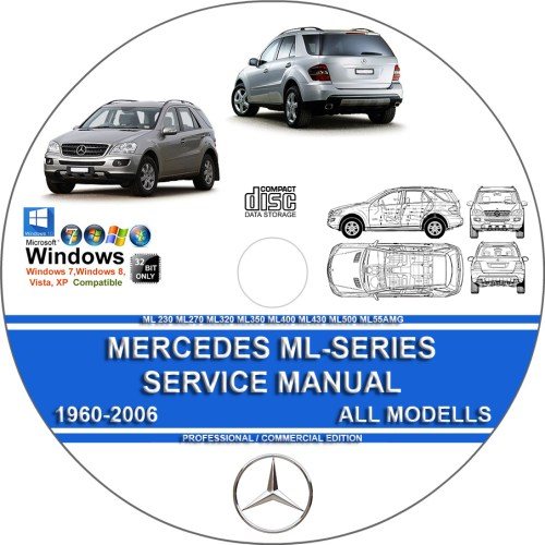 small resolution of maintenance repair manual for mercedes benz ml320