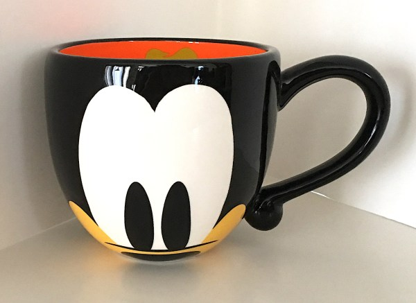 Disney Parks Cute Goofy Face Signature Large 20 Oz Ceramic