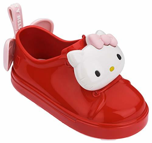 Mini Melissa Be+ Hello Kitty Red Kids Girls Sneakers Size 9M - Athletic