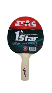 Stag Table Tennis Kit with Two Racquets, Three Balls and ...