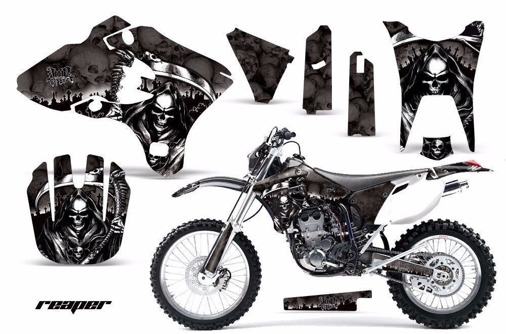 Dirt Bike Graphics Kit Decal Wrap For Yamaha WR250F WR450F