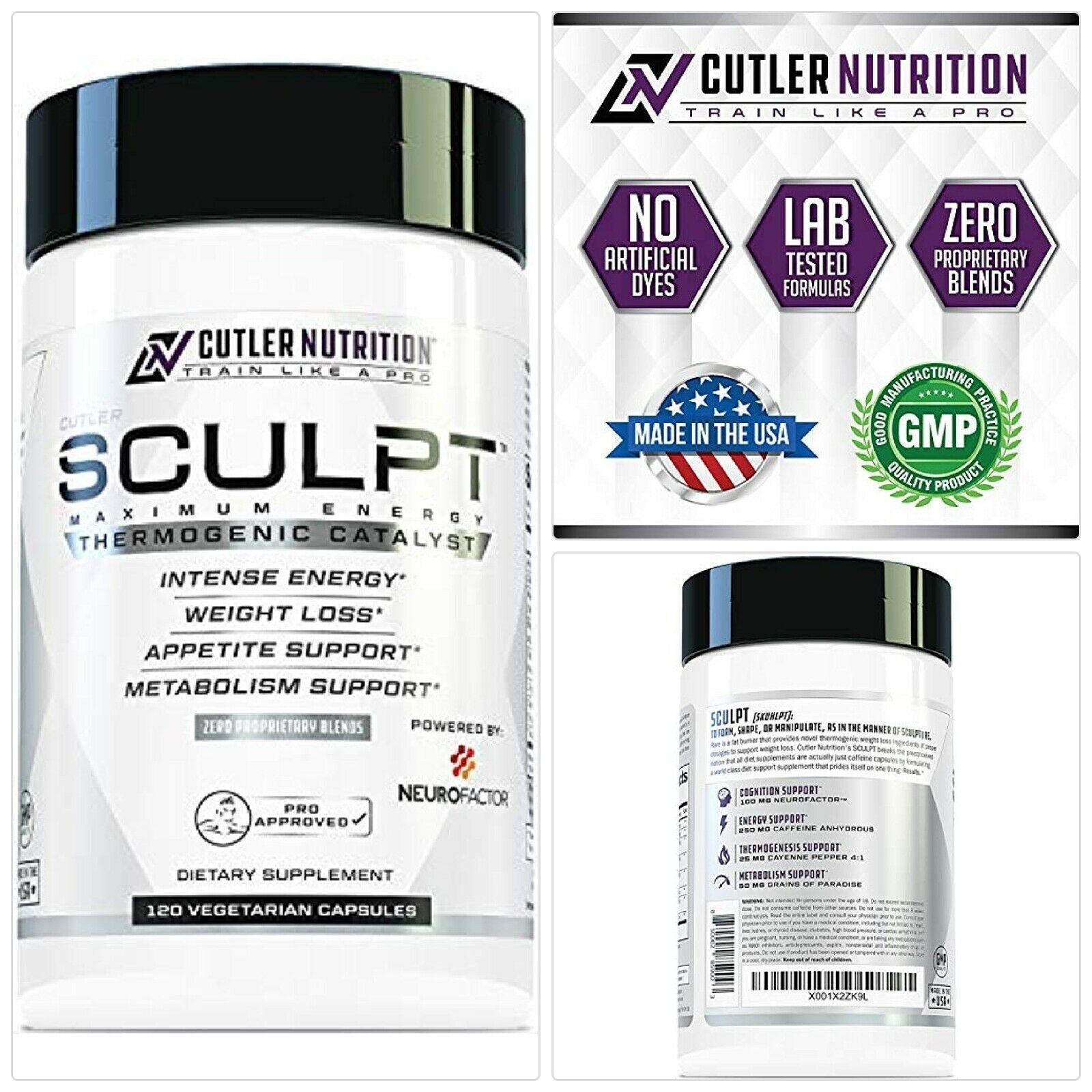 SCULPT Fat Burner Diet Pills: Best Weight Loss Energy ...