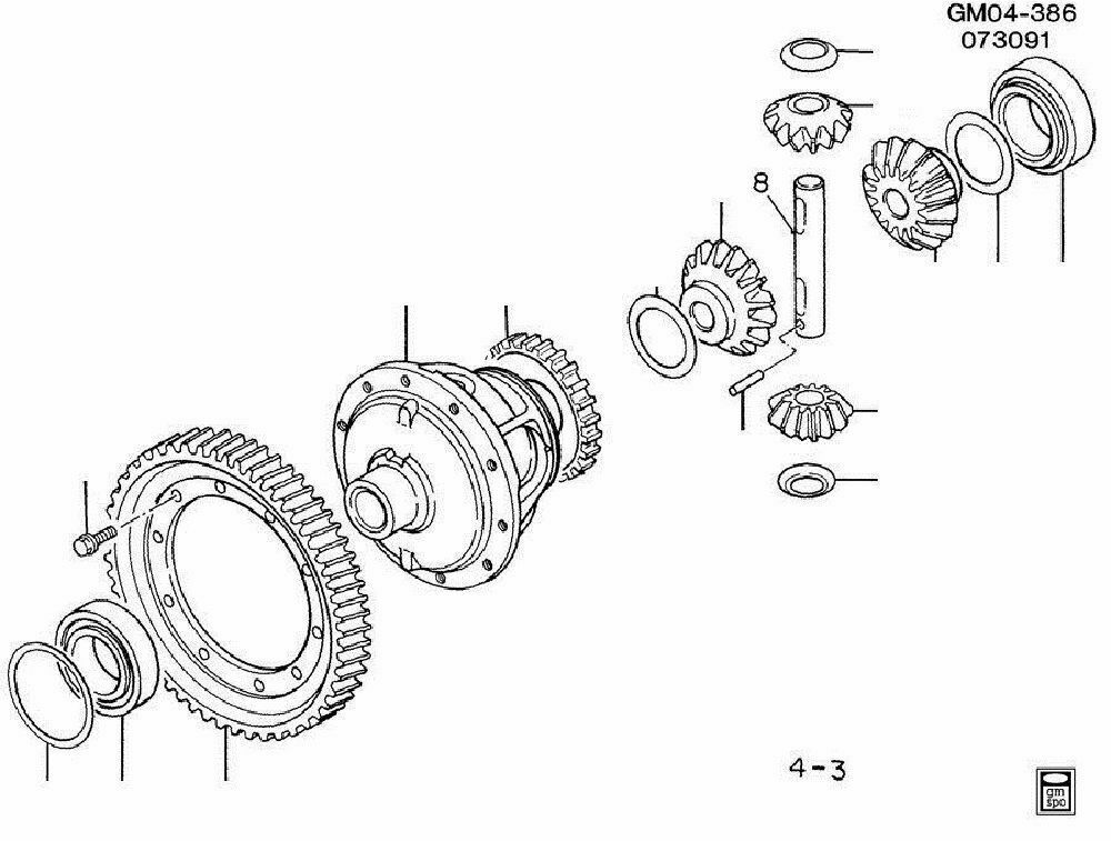 GM Transmission Differential Front Case Fits GM Vehicles