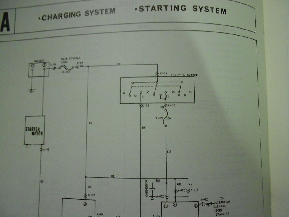 medium resolution of 1977 mazda b 1800 truck electrical wiring diagram service repair shop manual 77