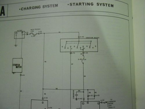small resolution of 1977 mazda b 1800 truck electrical wiring diagram service repair shop manual 77