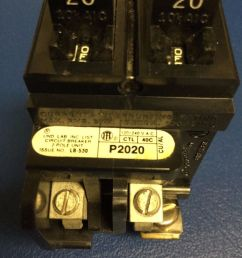 circuit breakers fuse boxes 20a pushmatic ite siemens 20 amp duplex or twin single pole  [ 1200 x 1600 Pixel ]