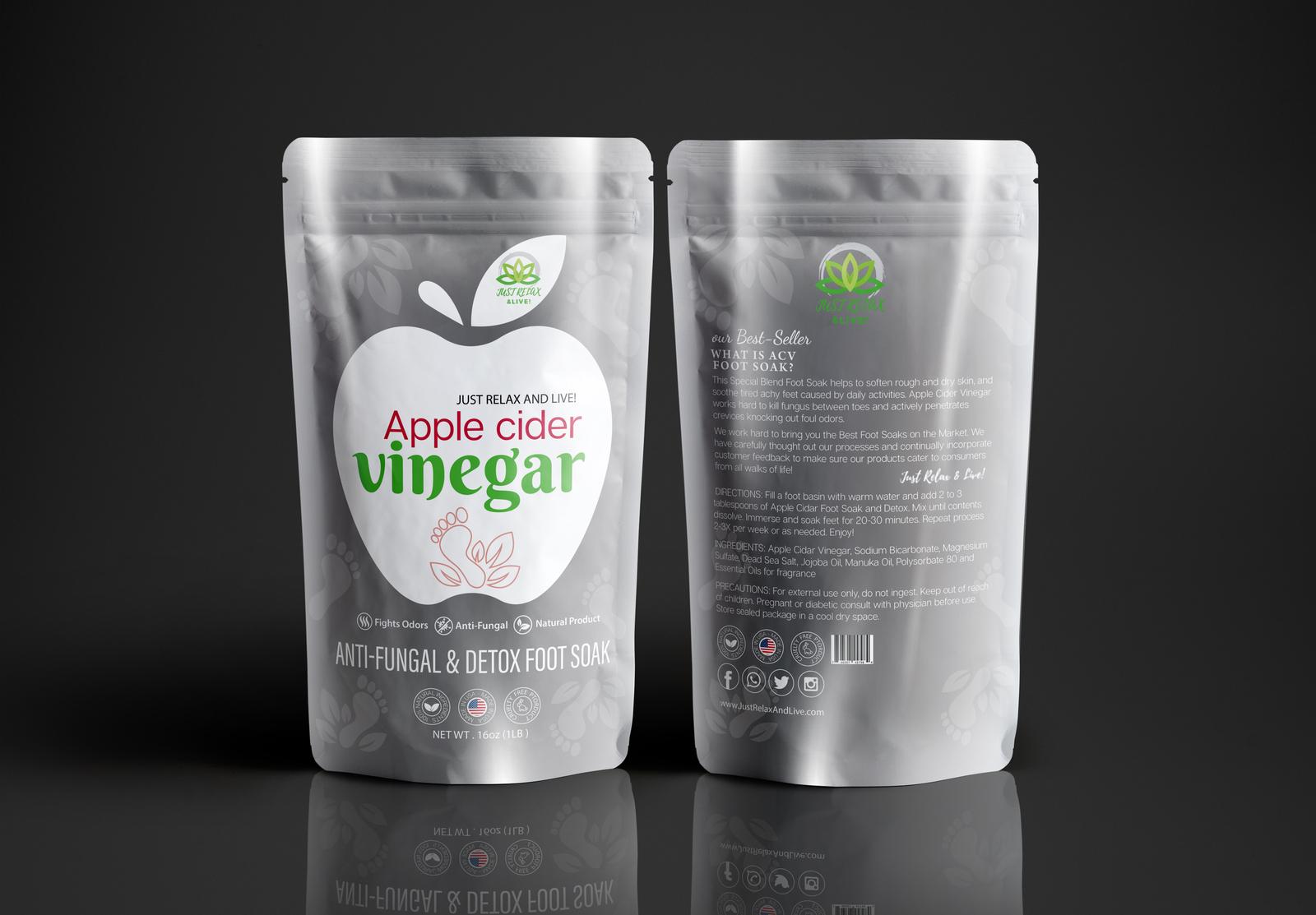 Apple Cidar Vinegar Foot Soak for Toenail Fungus and ...