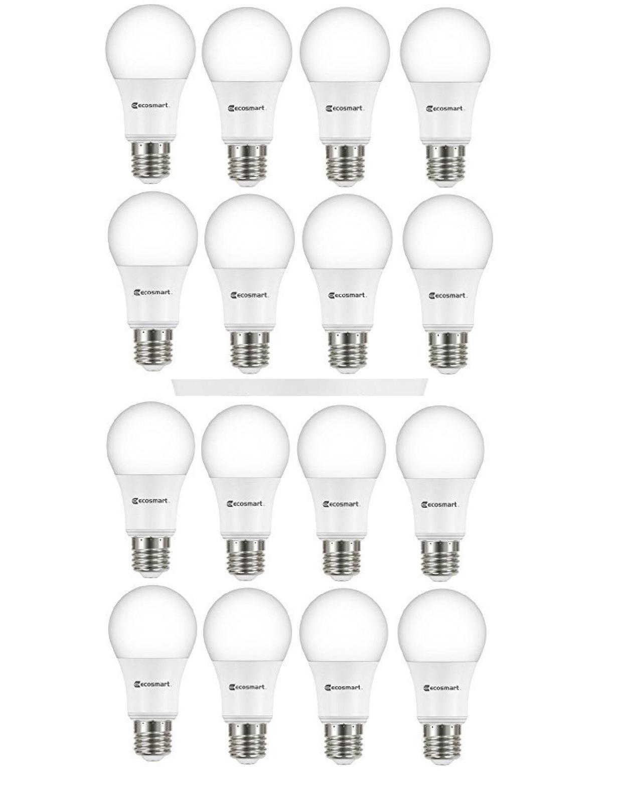 Ecosmart 60 Watt Equivalent Soft White A19 Non Dimmable