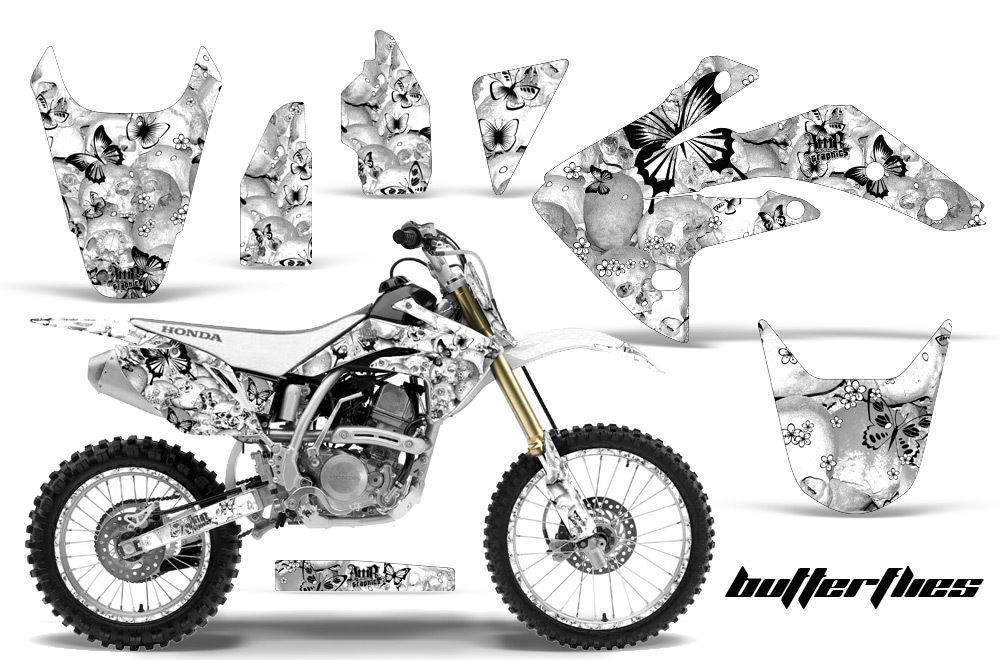 Graphics Kit Decal Sticker Wrap + # Plates For Honda
