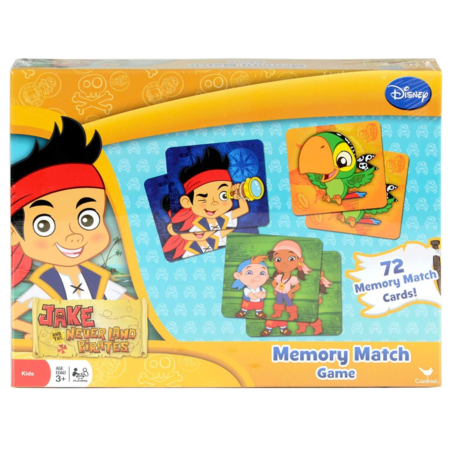 Jake And The Neverland Pirates Memory Match Game