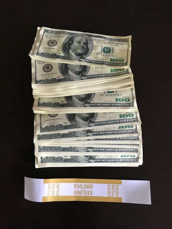 2 000 Stack 2k Style Fake Prop Money - Year of Clean Water