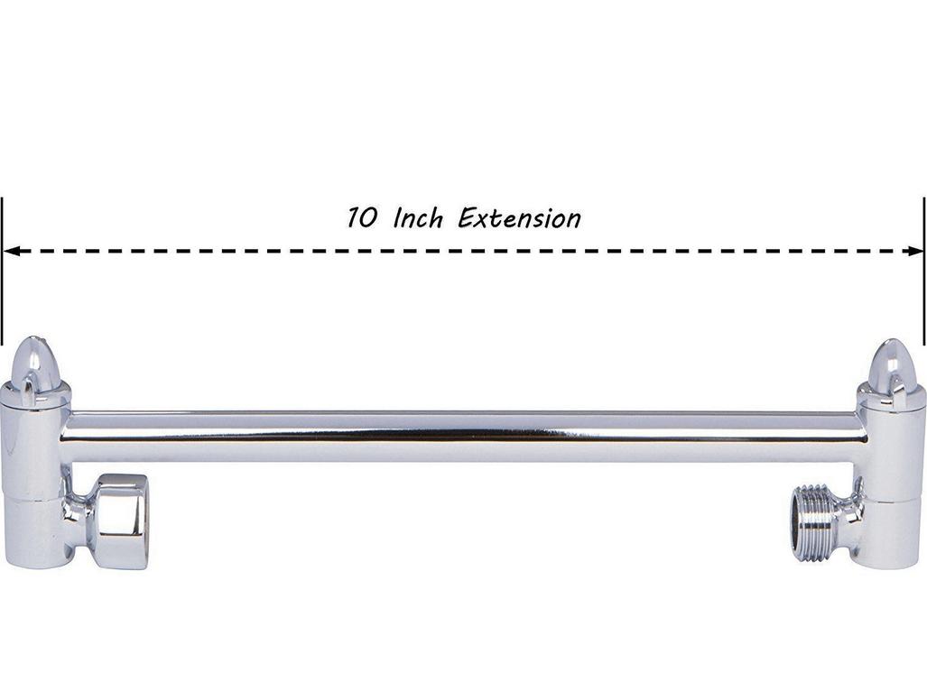 Shower Arm Showerhead Extender 10 Inch Aqua And 50 Similar Items