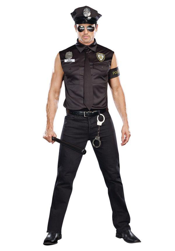 Dreamgirl Dirty Officer Police Ed Banger Adult Mens