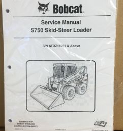 bobcat s750 skid steer loader service manual and 50 similar items 11 [ 829 x 1080 Pixel ]