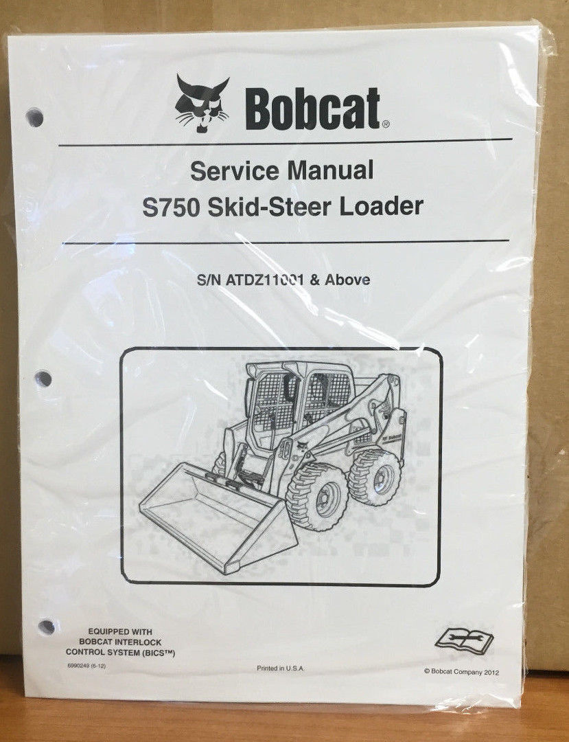 medium resolution of bobcat s750 skid steer loader service manual and 50 similar items 11