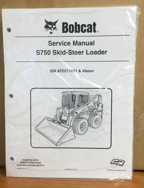small resolution of bobcat s750 skid steer loader service manual and 50 similar items 11
