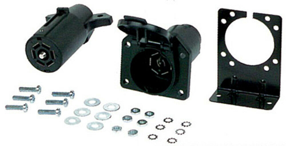 Details About Hoppy 48465 7 Rv Blade Trailer Wiring Connector Set