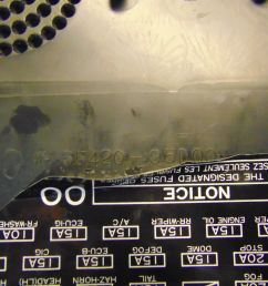 93 92 91 toyota previa dash board fuse box access panel speaker cover lid [ 1599 x 1200 Pixel ]