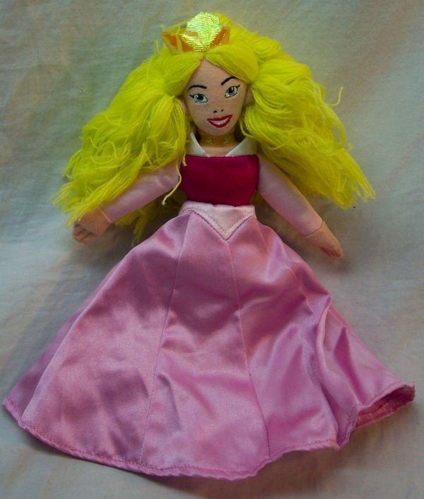 "Walt Disney Store Sleeping Beauty Aurora Princess 10"" Bean"