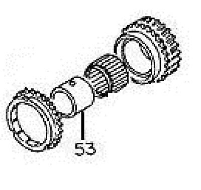Transmission Bearing Race For 5th Gear. Part Number