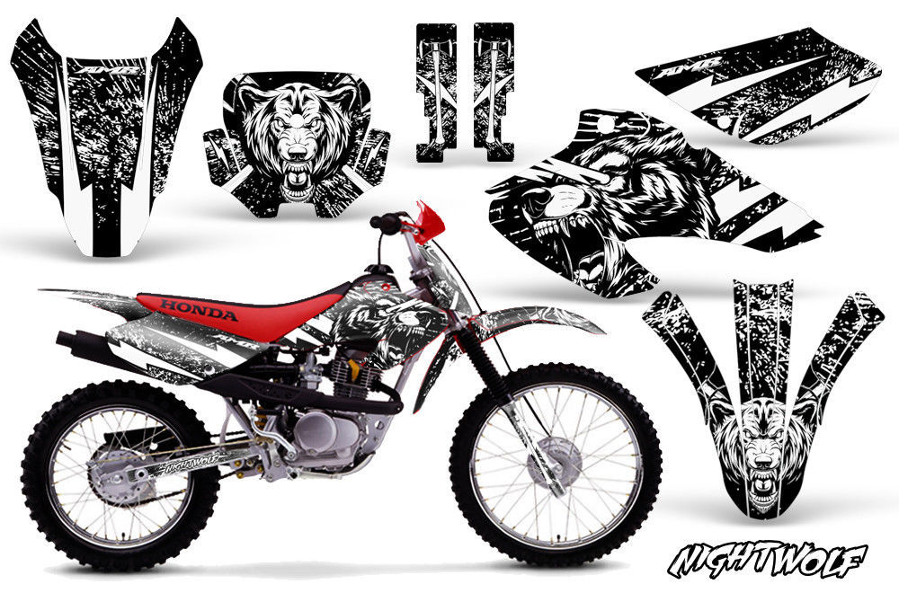 Honda XR80R XR100R Dirt Bike Graphic Sticker Kit Decal