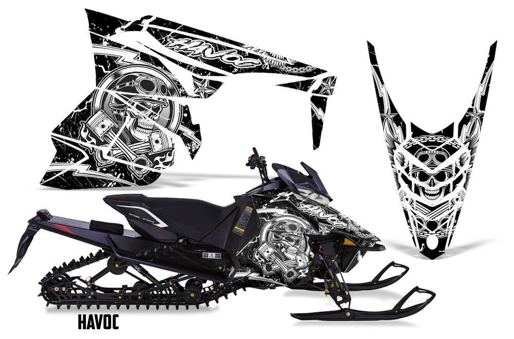 Yamaha SR Viper RTX STX MTX Decal Wrap Graphic Kit Sled