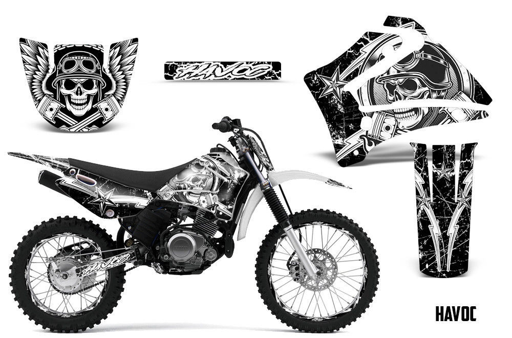 Yamaha TTR125 TTR 125 Dirt Bike Graphic Sticker Kit Decal