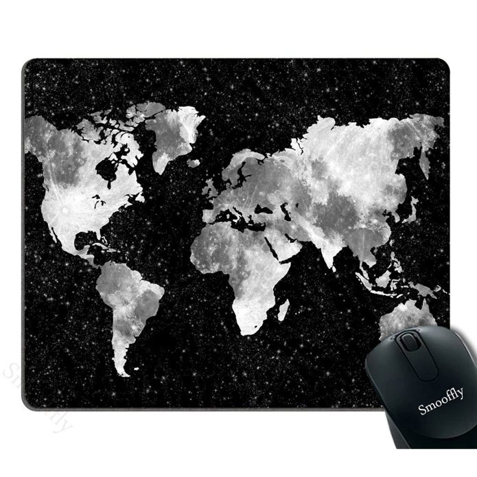 Smooffly Gaming Mouse Pad Custom World Map And 50 Similar Items