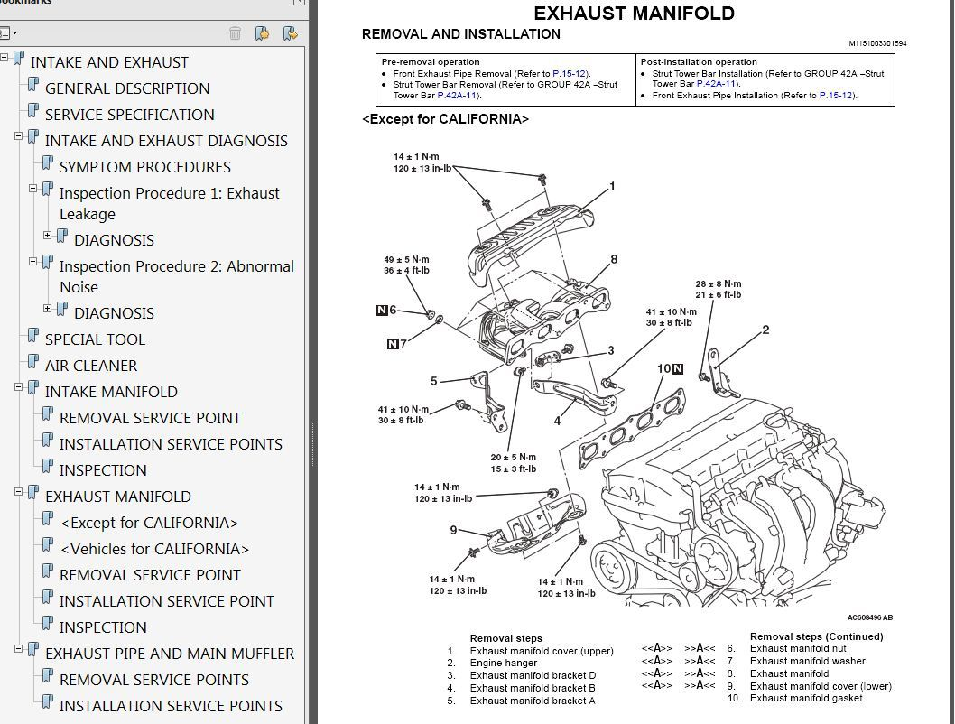 2008 Mitsubishi Lancer Factory Repair Service Manual