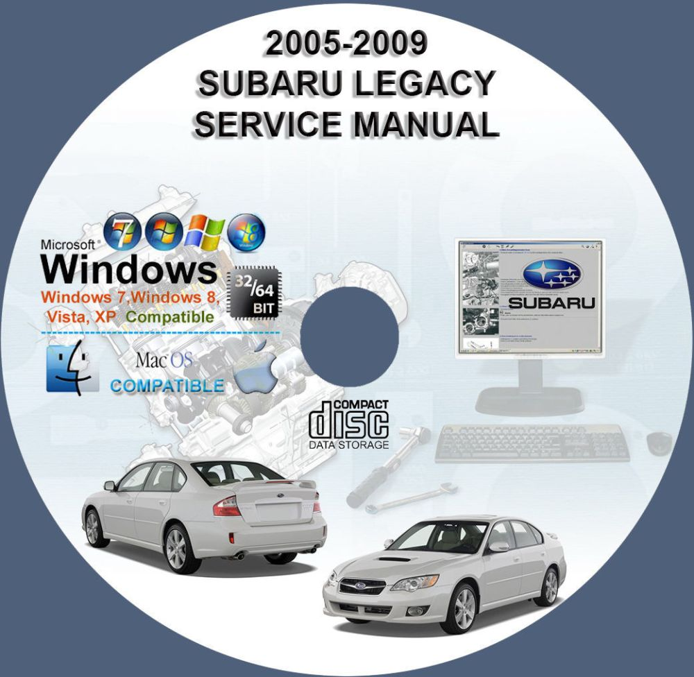 medium resolution of 2005 subaru legacy workshop manual