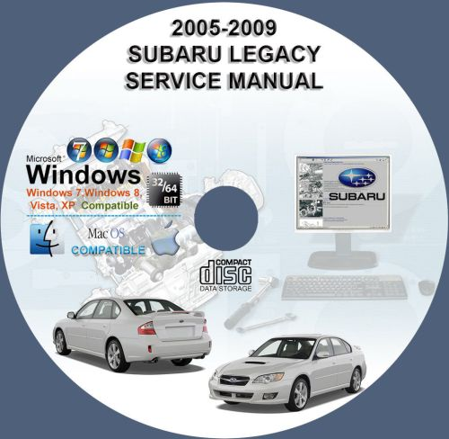 small resolution of 2005 subaru legacy workshop manual