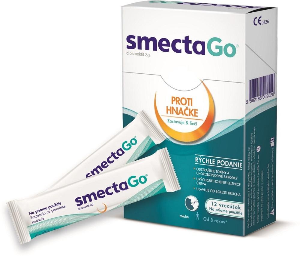 SmectaGo Natural Treatment Acute Chronic Diarrhea quick ...
