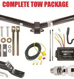 2011 2012 dodge journey trailer hitch wiring harness kit ballmount 2  [ 1500 x 1116 Pixel ]