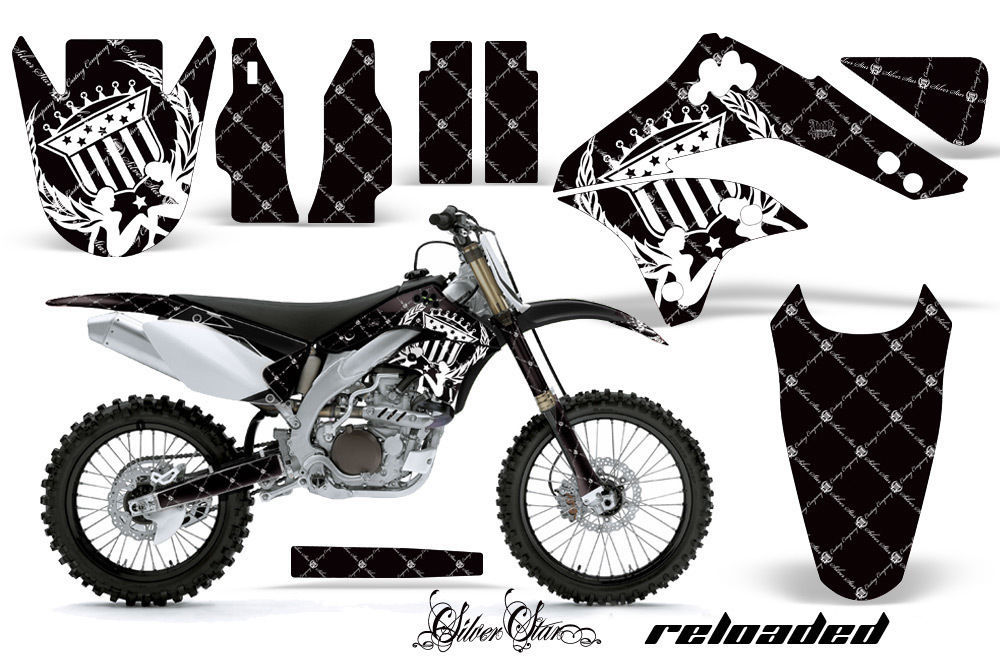 Dirt Bike Decal Graphic Kit Sticker Wrap For Kawasaki