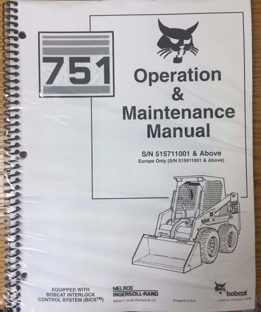 medium resolution of bobcat 751 auto files ingersoll rand bobcat 751 service manual pdf view links after clicking link 742 step by step instruction john deere 3032e