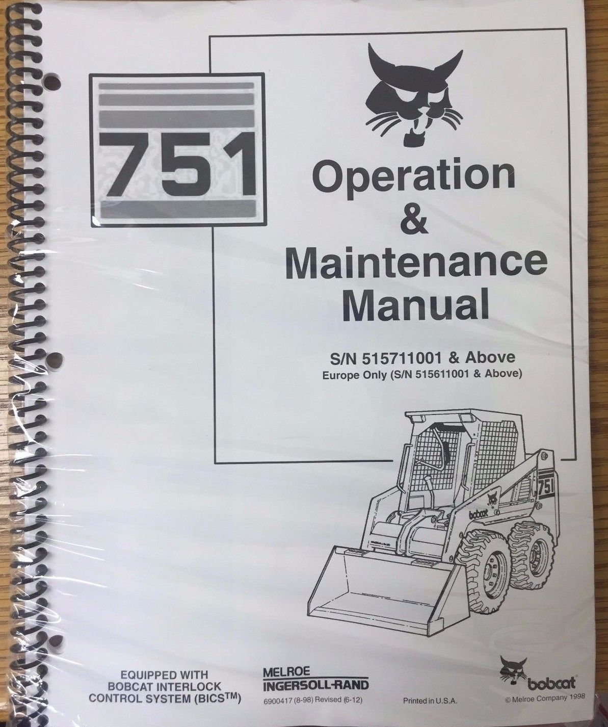 hight resolution of bobcat 751 auto files ingersoll rand bobcat 751 service manual pdf view links after clicking link 742 step by step instruction john deere 3032e