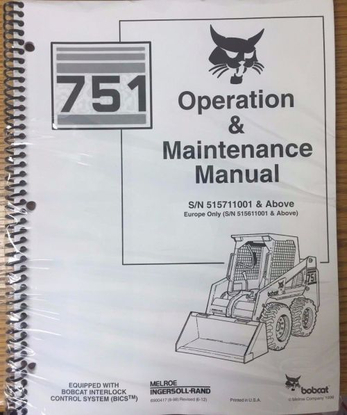 small resolution of bobcat 751 auto files ingersoll rand bobcat 751 service manual pdf view links after clicking link 742 step by step instruction john deere 3032e