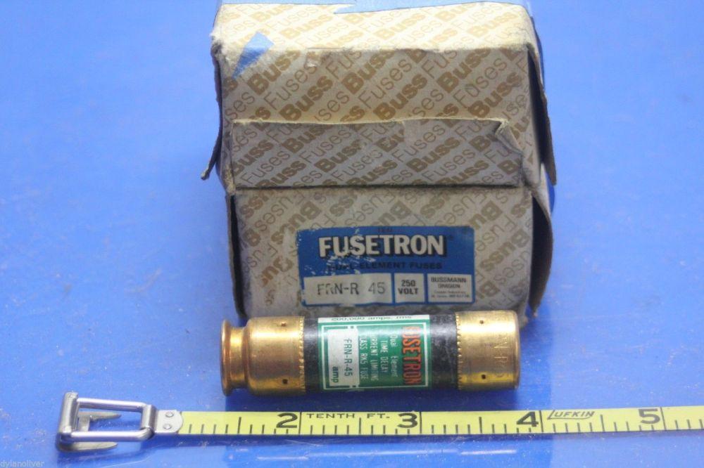 medium resolution of 2 box w 16 bussmann frn r45 250 volt fuses