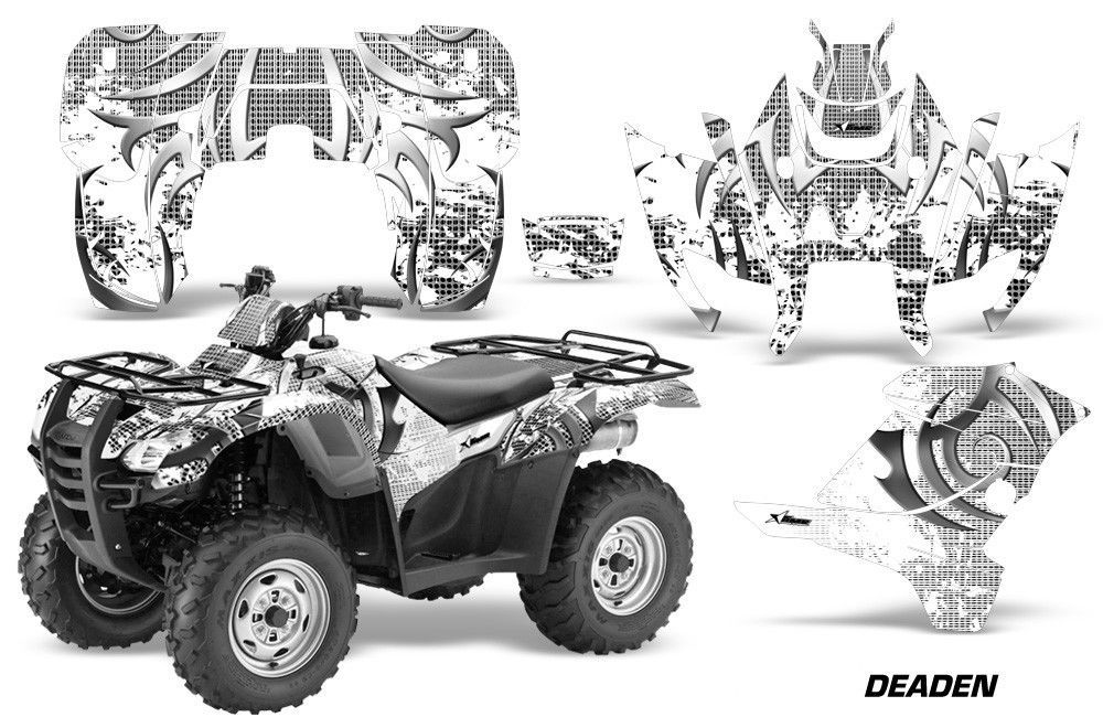ATV Graphics Kit Decal Sticker Wrap For Honda Rancher AT