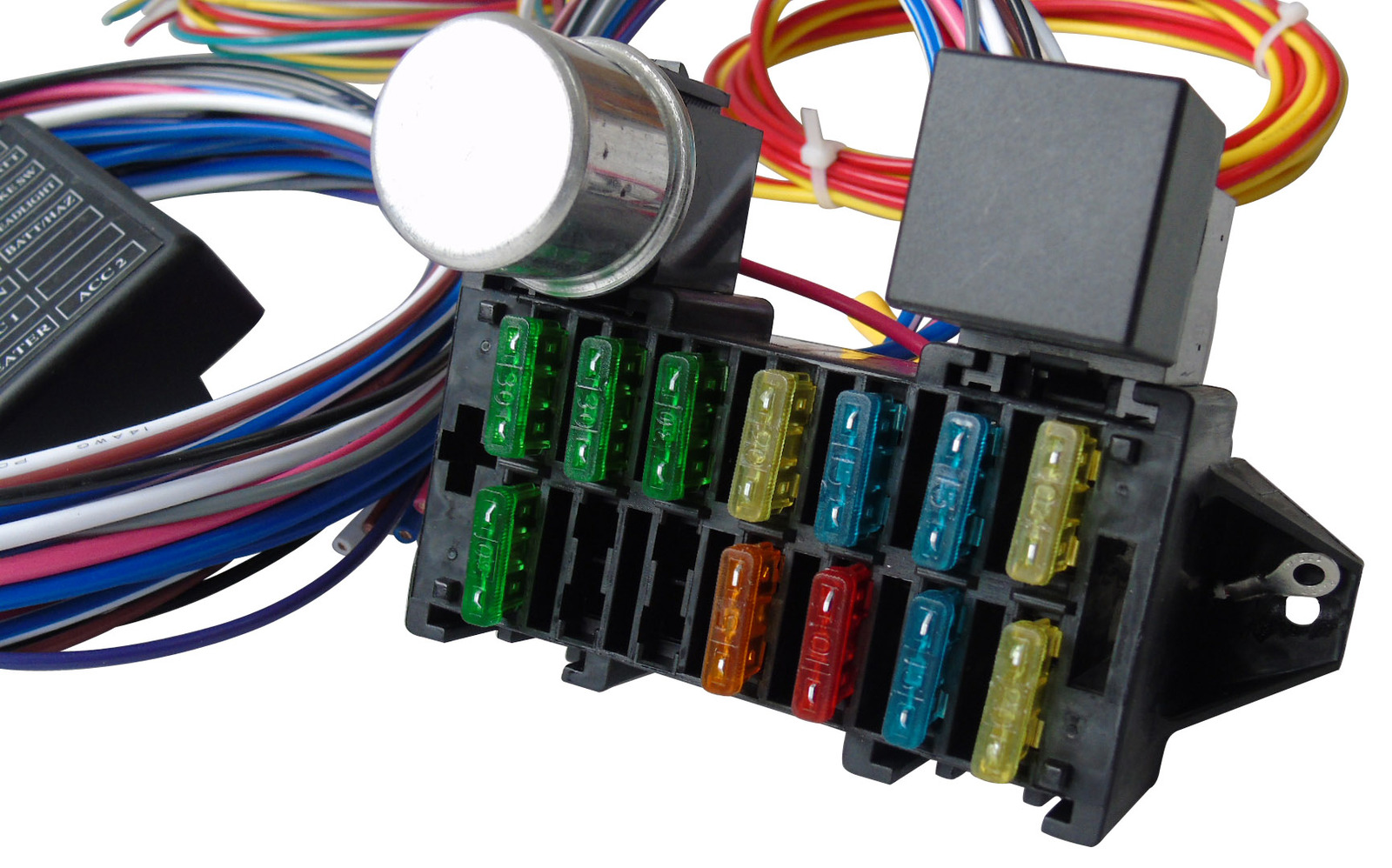 hight resolution of a team performance 12 circuit universal wire harness street car wiring