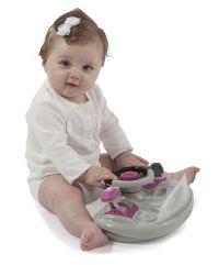 Pink Baby Girl Activity Car Walker Infant Jumper Toddler ...